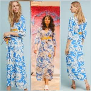 Anthropologie Maeve dress 14 maxi